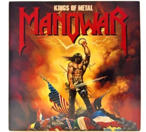 Manowar - Kings Of Metal 1988 EU 1 PRESS