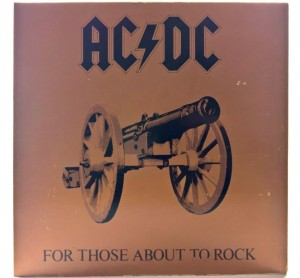 AC/DC - For Those About To Rock 1981 GER