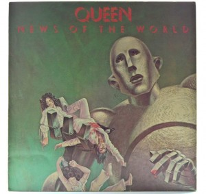 Queen - News Of The World 1978 GER