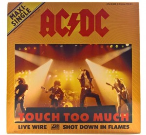 AC/DC - Touch Too Much 1980 GER