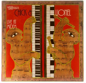 Chick Corea & Lionel Hampton - Live At Midem 1980 GER 1 PRESS