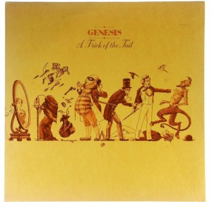 Genesis - A Trick Of The Tail 1976 UK (Blue Label)