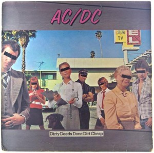 AC/DC - Dirty Deeds Done Dirt Cheap 1981 US