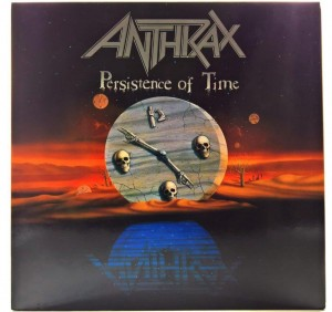 Anthrax - Persistence Of Time 1990 GER Different Label