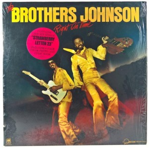Brothers Johnson - Right On Time US 1977 Booklet