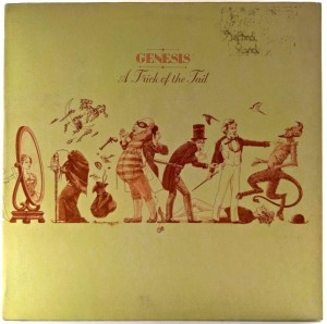 Genesis - A Trick Of The Tail 1976 UK AUTOGRAFY
