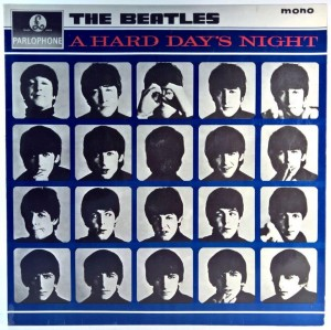 Beatles - A Hard Day's Night 1 PRESS UK
