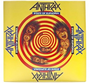 Anthrax - State Of Euphoria 1988 EU 1 PRESS