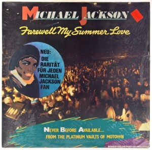 Michael Jackson - Farewell My Summer Love + Plakat
