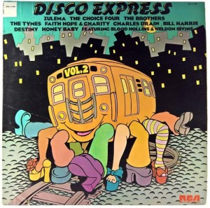 Various - Disco Express Vol. 2 US 1976